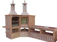 Manufacture Garden Brick Barbecue Grill - BBQ in refractory bricks, Brick barbecues Grill, BBQ nice price, Cheap BBQ, bbq with bricks
