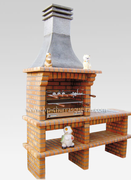 Brick Barbecue 39, Manufacture Garden Brick Barbecue Grill - BBQ in refractory bricks, Brick barbecues Grill, BBQ nice price, Cheap BBQ, churrasqueiras, Outdoor Barbecue Grill, charcoal barbecue grill, outdoor barbecue grills, charcoal grill, Barbecue and Pizza Oven, Barbecue Grill, Churrasqueiras, bbq with bricks