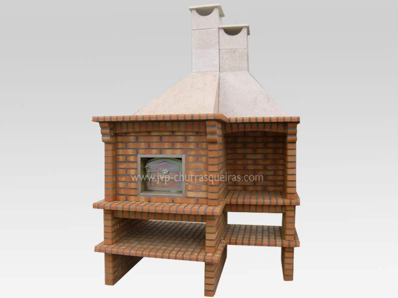 BBQ Grill114, BBQ Ovens, BBQ with Oven, Manufacture Garden Brick Barbecue Grill, BBQ in refractory bricks, Brick barbecues Grill, BBQ, churrasqueiras, Outdoor Barbecue Grill, charcoal barbecue grill, outdoor barbecue grills, charcoal grill, Barbecue and Pizza Oven, Barbecue Grill, Churrasqueiras, bbq with bricks