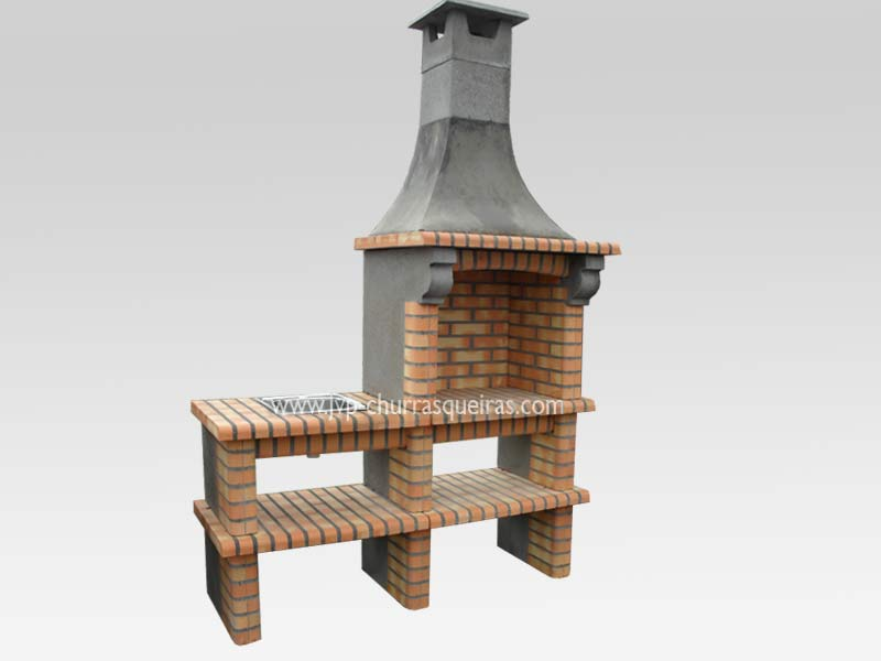 BBQ Grill 123, Manufacture Garden Brick Barbecue Grill - BBQ in refractory bricks, Brick barbecues Grill, BBQ nice price, Cheap BBQ, churrasqueiras, Outdoor Barbecue Grill, charcoal barbecue grill, outdoor barbecue grills, charcoal grill, Barbecue and Pizza Oven, Barbecue Grill, Churrasqueiras, bbq with bricks