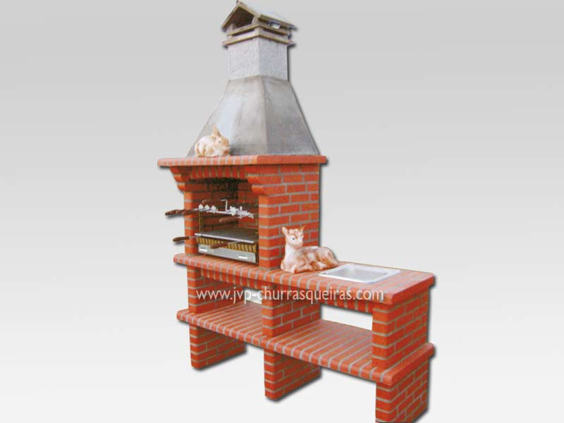 Brick Barbecue 36, Manufacture Garden Brick Barbecue Grill - BBQ in refractory bricks, Brick barbecues Grill, BBQ nice price, Cheap BBQ, churrasqueiras, Outdoor Barbecue Grill, charcoal barbecue grill, outdoor barbecue grills, charcoal grill, Barbecue and Pizza Oven, Barbecue Grill, Churrasqueiras, bbq with bricks