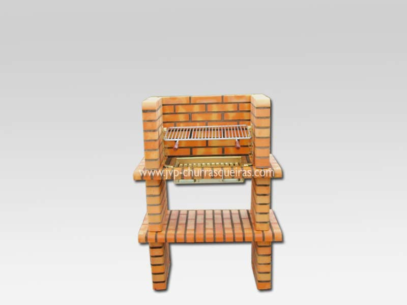 Brick Barbecue 52, Manufacture Garden Brick Barbecue Grill - BBQ in refractory bricks, Brick barbecues Grill, BBQ nice price, Cheap BBQ, churrasqueiras, Outdoor Barbecue Grill, charcoal barbecue grill, outdoor barbecue grills, charcoal grill, Barbecue, Barbecue Grill, Churrasqueiras, bbq with bricks