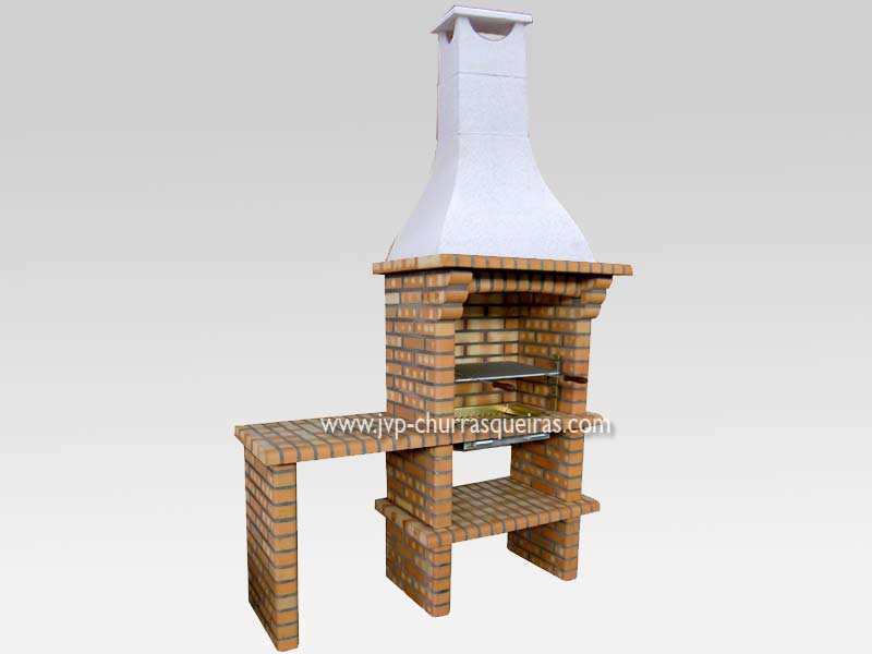 Brick Barbecue 60, Manufacture Garden Brick Barbecue Grill - BBQ in refractory bricks, Brick barbecues Grill, BBQ nice price, Cheap BBQ, churrasqueiras, Outdoor Barbecue Grill, charcoal barbecue grill, outdoor barbecue grills, charcoal grill, Barbecue and Pizza Oven, Barbecue Grill, Churrasqueiras, bbq with bricks