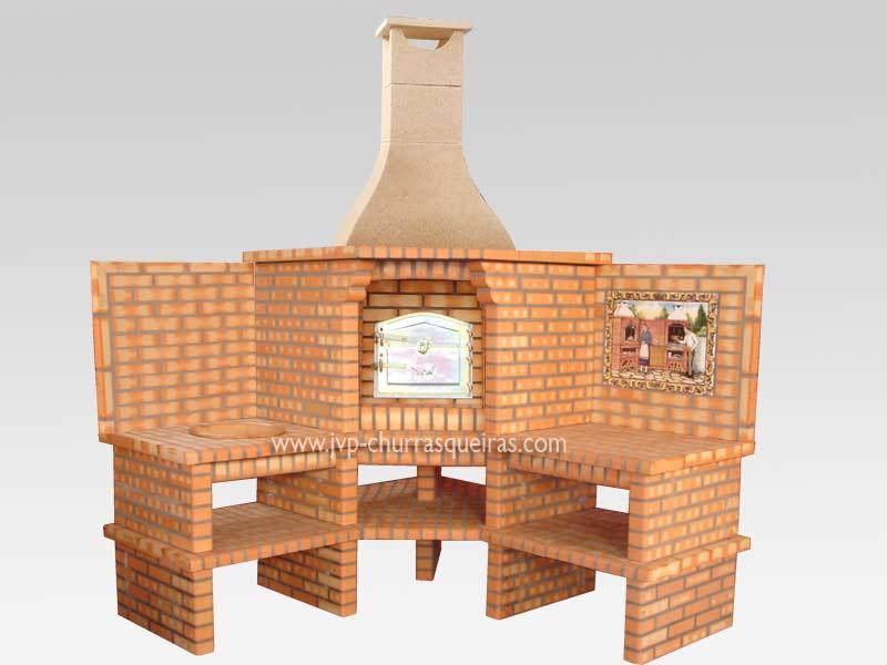Forno embutido, Churrasqueiras, churrasqueiras com forno, made in Portugal, churrasqueira 68