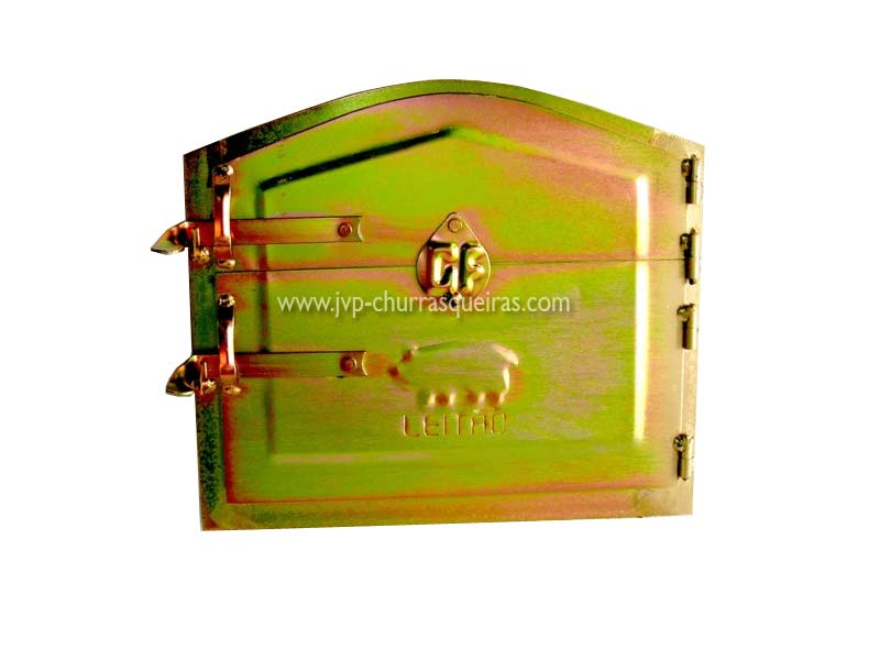 Oven door PFL, barbecues bricks manufacturers. Portuguese manufacturer. Masonry Barbecue, Barbecues, grill, utensils